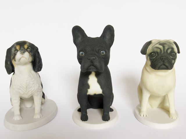 3d printed unique sculptures of your dog by Mon Petit Chien