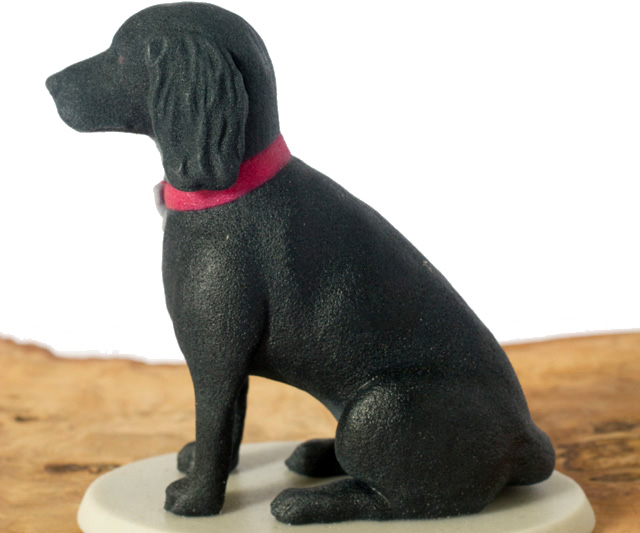 Unique sculpture of your spaniel by Mon Petit Chien
