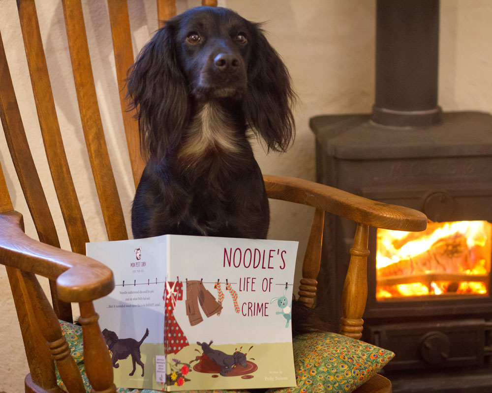 Personalised book: your dog's life of crime