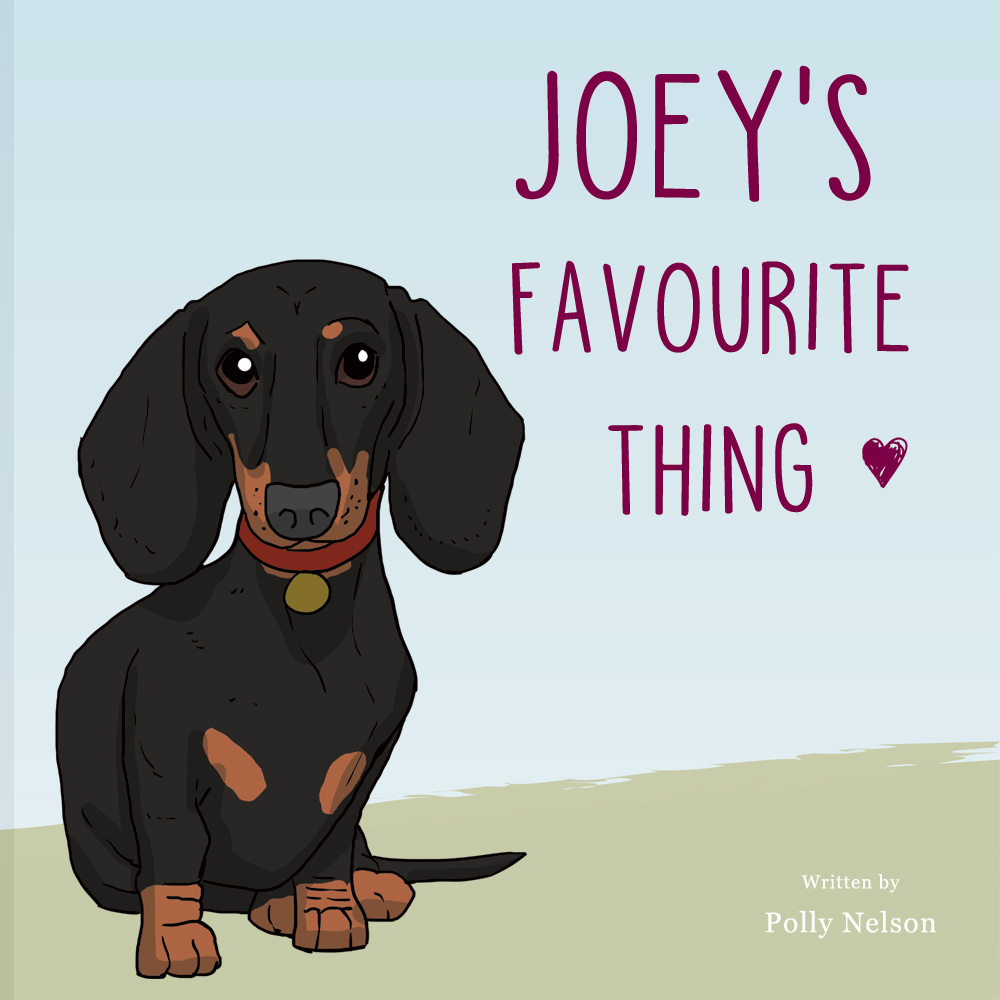 Dachshund Personalised book: your dog's favourite thing