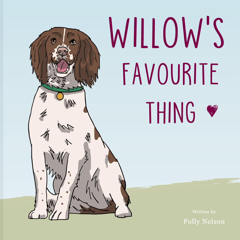 Springer spaniel Personalised book: your dog's favourite thing