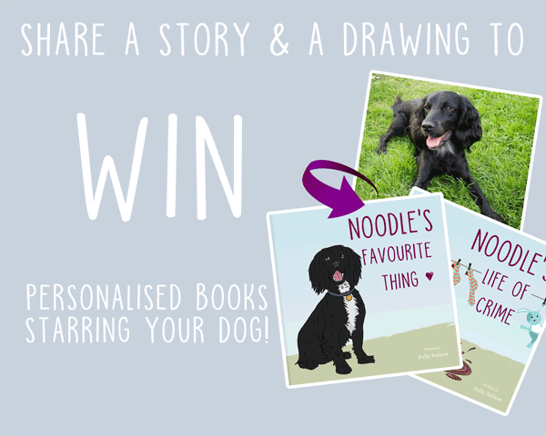 Win personalised books from Mon Petit Chien