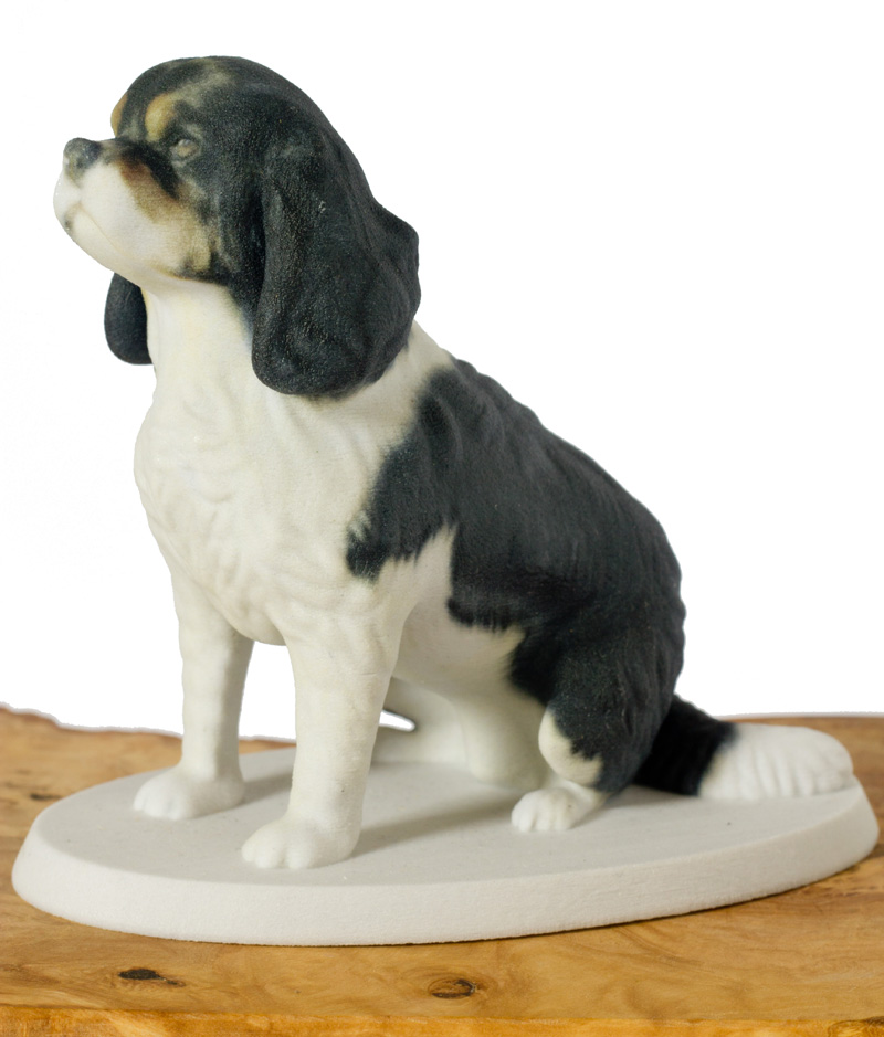 Cavalier king charles spaniel 3d printed sculpture by Mon Petit Chien