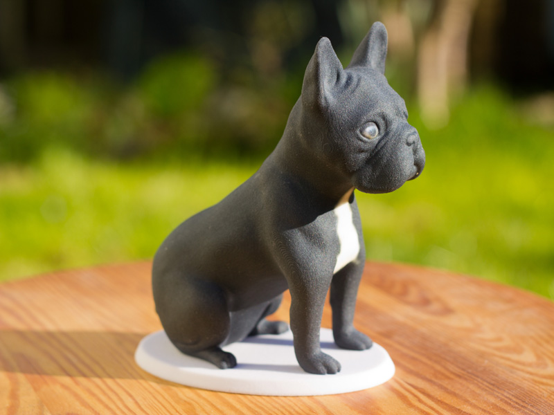 French bulldog 3d printed sculpture by Mon Petit Chien
