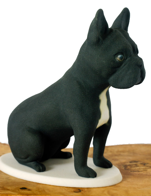 Frenchie 3d printed model by Mon Petit Chien