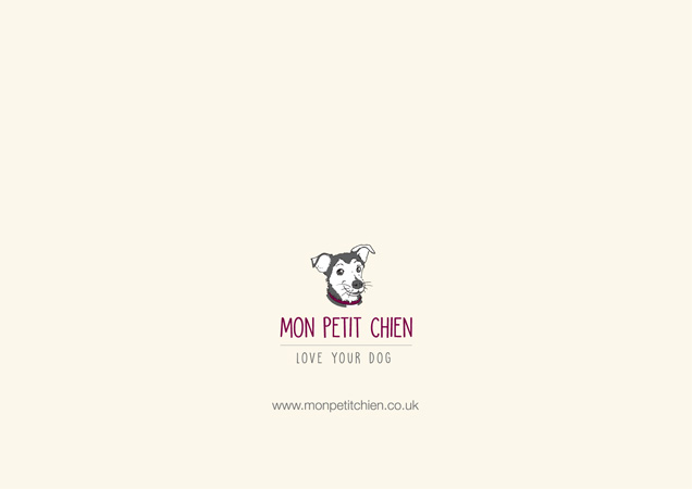 Greeting cards for dog lovers at mon petit chien funny dog breed greetings card by mon petit chien back of card m4hsunfo